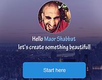 Collage creator concept