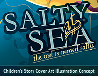 Salty at Sea - Children's Book Concept