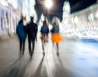 Saint-Petersburg night emotions