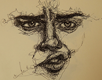 Pen drawing- begining