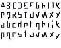 Ascetic Typo—Typeface Design