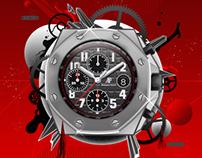 Luxury Watches Editorial Illo's