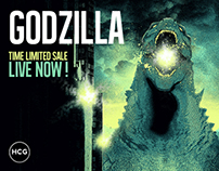 GODZILLA / TIME LIMITED SALE / HCG