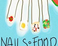 nails food