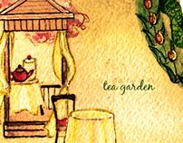 Kelley Sisters' Garden Map