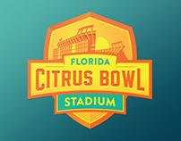 Florida Citrus Bowl Logo - Unused