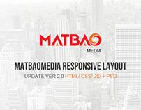 Matbaomedia Responsive Layout