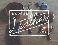 BADGER - LEATHER -