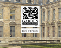 Logo + Itinerary: Garden Objects & Ornaments Tour