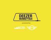 Deezer Monkey Week / Monkey Taxi / Direct Marketing