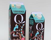 iQmelk - Chocolate milk packaging