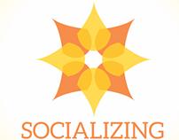 Manual de Identidade Visual | App Socializing