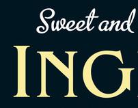 Sweet & Nutty Inglewhite branding and packaging