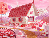 Candy Cottage (russian edition)