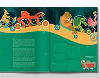 Editorial Illustration Collaboration