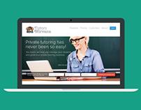 Tutors Nirvana   Startup Website Redesign