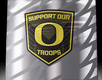 Support Our Troops Glove Box