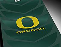 Oregon Ducks Glove Box