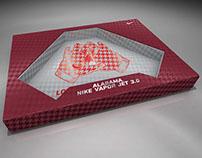 BCS Championship Glove Box