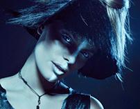 Gleam of Blackness for Dark Beauty Magazine