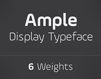 Ample Typeface - A Display Type Family