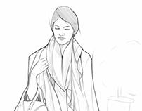 Fashion sketch 6