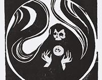 Reaper - Lino Cut