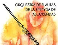 Orquestra de flautas de la EMMYDA de Alcobendas