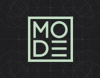 MODE - Motion Design Conference Branding