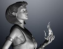Egyptian Sorceress