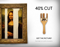 Save the Arts Advertisement