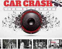 CAR CRASH LIVE BROADCAST / Red Cross