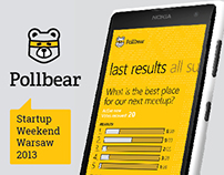 Pollbear - simple app for SMS-surveys