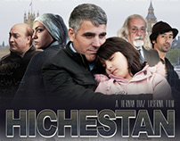 Hichestan poster and DVD cover design