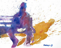 watercolor: shadows & lights