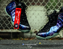 "#WhatTheLevitation - Nike Air Foamposite One ""Galaxy"""