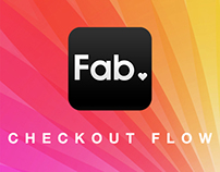 Fab.com | Mobile App Checkout Flow Redesign