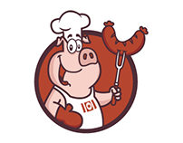 Porky's Branding
