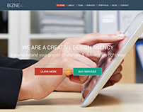 BizNex | Multi-Purpose Parallax WordPress Theme