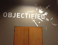 Objectified - Exhibition Graphics