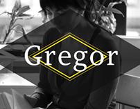 Gregor typeface promo