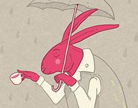 Rabbit on the Rain
