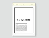 Ambulante Newsletter