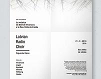 NEU MUSIC. VIVANCOS Y LA LATVIAN RADIO CHOIR