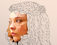 ILLUSTRATION   Margaery - Low Poly
