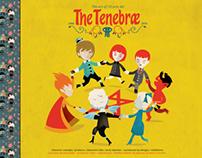 The Art book of / el libro de arte de The Tenebrae /