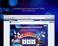 Facebook game application for TIPOS