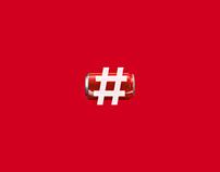 Coca-Cola's Drinkable Hashtag