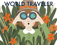 World Traveler Children's Pattern & Print