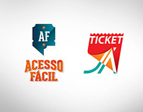 Logotipos e Ingressos